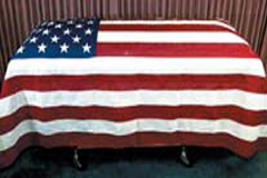US Internment Flags