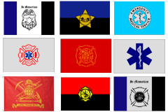 First Responders Flags