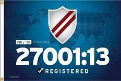 ISO/IEC 27001:13 Flag