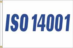 ISO 14001 Flag