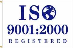 ISO 9001: 2000 Flag