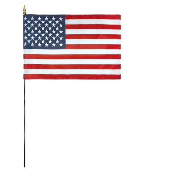 US Mounted 12x18 Classroom Flag