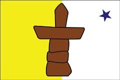 Nunavat Flag