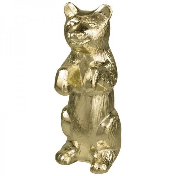Metal Bear Gold