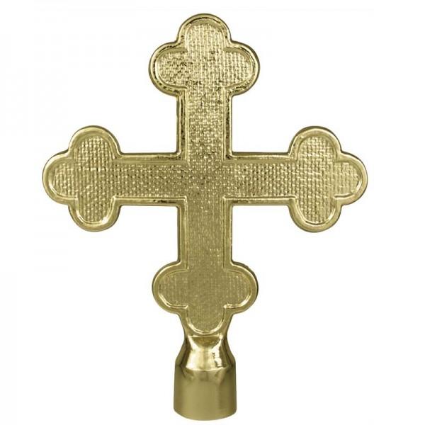 Metal Botonee Cross Gold