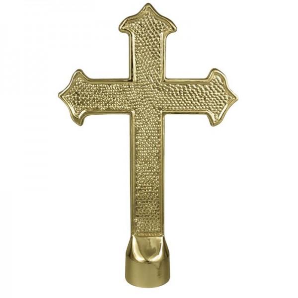 Metal Fancy Cross Gold