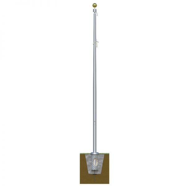 Sentry-Flagpole